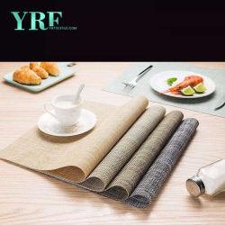 Lavável Yrf Placemat fácil de limpar Exibir pano de mesa em Rack
