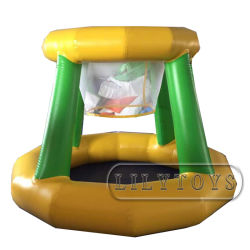 L'eau flottant gonflable commerciale Panier de Basketball pour l'eau Park