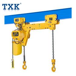 Fase Twee van het Merk van Txk van 0.5-10 Ton 380V 50Hz 3 Hijstoestel van de Ketting van Haken het Elektrische