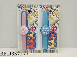 Fliegende Untertasse Uhr Spielzeug Spinning Top Kunststoff Gyro Kleine Armband