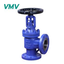 Стандарт DIN Vmv угол тип сильфона Герметичный клапан Глоб Pn16