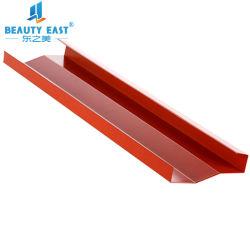 Aluminio en línea de techo Pantalla de tipo práctico para el mantenimiento del techo