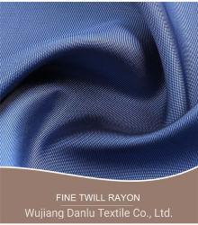 衣服のライニングのための熱い販売の良いレーヨンあや織りファブリックViscose