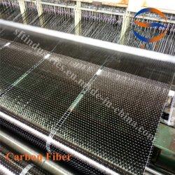 20cm de largeur 200gsm Ud tissu en fibre de carbone unidirectionnel