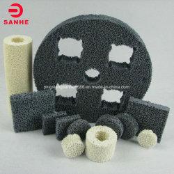 Пористая карбид кремния литым из пеноматериала керамического фильтра