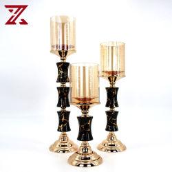 Home decor Bruiloft Party tafel Decoratie mooi metalen keramische Kaartlehouder Voor kerstversiering