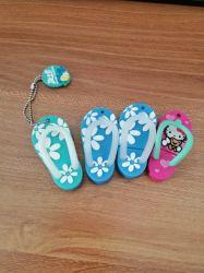 De nouvelles chaussures en PVC forme Kawii lecteur Flash USB avec logo personnalisé pour cadeau promotionnel