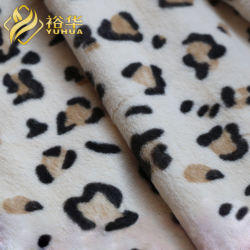 Fabricant de la coutume de tissu 100 % polyester Tissu mou pour jouets Minky Bébé doux de contrat cadre