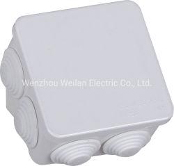 Cable eléctrico de plástico de la caja de empalmes cuadro Conector del cable con doble aislamiento.