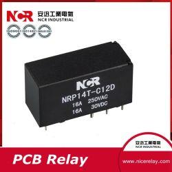 9V 20Mini relé PCB/relé eléctrico (NRP14T)