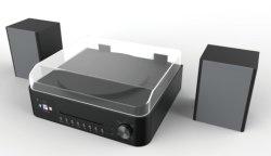 올인원 디자인 - 홈 오디오 - 현대적인 턴테이블 IR/DAB/FM/BT 및 USB 플레이어의 Hi-Tech 콤비네이션 포함