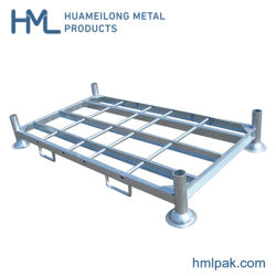 Heavy Duty métal empilable Rack de stockage de tuyaux en acier pour l'entrepôt