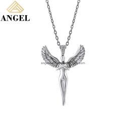 مصنع مجوهرات الأزياء بالجملة 925 Sterling Silver Creative Angel Design مجوهرات عالية الجودة معلقة