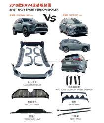 RAV4 Kit de corpo de modificação da versão Desportiva Repor acessórios do carro para a Toyota auto peças de carroçaria