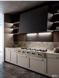 Novo Projeto elegante em madeira sólida de armários de cozinha com cestas de Recebimento