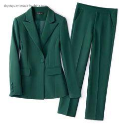 Plusgrößen-Form-Kleid-Kleidungs-Frauen-Klage-Umhüllungen-Blazer