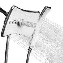 11 niederschlag-Dusche-Kopf des Zoll-4-Spray Multifunktionsu. Dusche-Stab kombiniert im Chrom