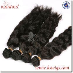 10Aバージンの毛ボディ人間の毛髪の織り方は100自然なブラジルのRemyの毛を卸しで束ねる