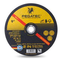 페가텍 기술 앵글 그라인더 9인치 샌딩 디스크 메탈 이노x 절단 디스크