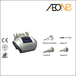 Tripolar RF 든 및 공동현상 초음파 다기능 기계