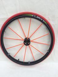 عجلات محورية ذات عجلات ذات عجلات ملصصة بالعجلات الكروية ذات الكرة المطاطية