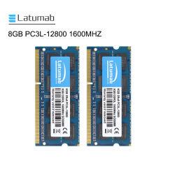 Ноутбук Latumab ОЗУ для ноутбука с микросхемой 8 Гбайт памяти DDR3 1600 Мгц PC3-12800 204контакт компьютерной памяти DDR3 SO-DIMM для ноутбуков
