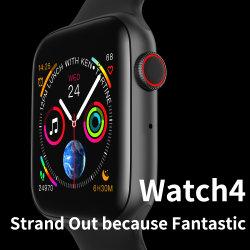 Nuova forma fisica un Wristband astuto Bluetooth da 1.54 pollici che chiama sonno di frequenza cardiaca ECG che riflette visualizzazione Touchable completa Smartwatch in bordo curvo