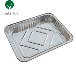Isqueiros com metade do tamanho de folha de alumínio Bandeja para assar alimentos
