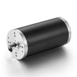 63mm 영구 자석 높은 토크 전기 12V 24V 36V 40V 48V 60V 전력 50W 100W 150W 200W 브러시 DC 모터
