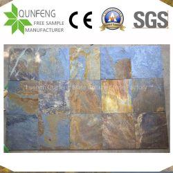 중국 천연 바닥재 석재 타일 Rusty Slate Paving Slabs