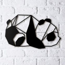 يحبك صنع وفقا لطلب الزّبون [سري] حيوانيّ بيتيّ زخرفة معدن جدار فنية