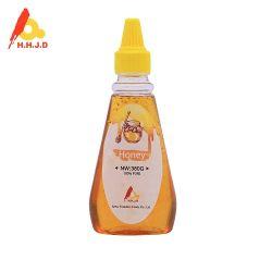 Miele naturale selvaggio dell'ape in bottiglia di plastica di compressione 380g