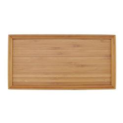 À la main de haute qualité des aliments solides Grade Accueil bac de bambou