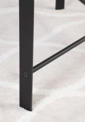 Современный простой сложенных раунда согнуть ноги металла лаком кофейный столик