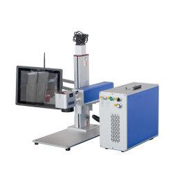 Macchina portatile della marcatura dell'indicatore di taglio della taglierina dell'incisione del Engraver del laser della fibra di CNC di 20W 30W 50W 60W 80W 100W 120W con il calcolatore
