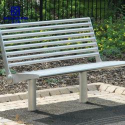 El resto de acero inoxidable de hecho personalizado al aire libre banco del parque