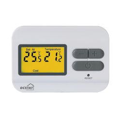 Nicht programmierbarer verdrahteter Raum-Wasser-Heizungs-Thermostat