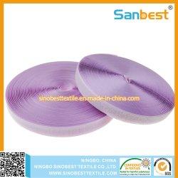 Hoge kwaliteit kleurrijke polyester klittenbandsluiting