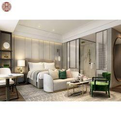 Set di arredamento moderno personalizzato per le camere dell'hotel, letti a testiera Produttore Azienda Cinese 5 Stelle fornitori di Mobili Camera da Letto