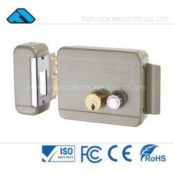 Fechadura da porta de segurança cinzento de trava da tampa da fechadura eléctrica de rim (TL1073-DL-yl-L2)