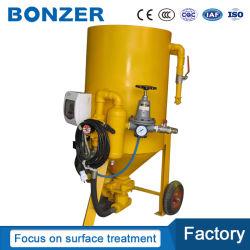 塵取り外しのための小さいですか小型電気か自動または航空管制の乾式の砂を吹き付ける/Sandの発破機械をリサイクルする5CF/140L高圧移動式ポータブル