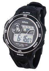 2019 het Hete Waterbestendige Horloge 5ATM van het Plastic Geval van de Verkoop Sportieve Digitale