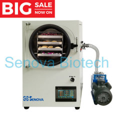 4kg-6kg小さい小型ホーム実験室の真空の食糧凍結乾燥器