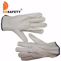 De douane Afgedrukte Uitstekende Handschoenen van de Motorfiets & van de Motor van het Leer Waterdichte, de Volledige Handschoenen van de Motocross van de Vinger, de DrijfHandschoenen van de Motor