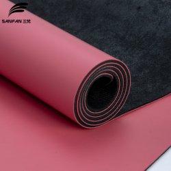 El deporte Gimnasio Non-Slip mejor PU el Caucho Natural estera del yoga