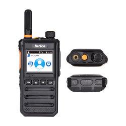Inrico T640A 1.77дюймовый светодиодный дисплей портативного устройства рации 4G радио Suppoet двойной платы и WiFi