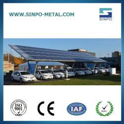 La energía solar aparcamiento con la estación de recarga solar los soportes de montaje en panel de la energía solar