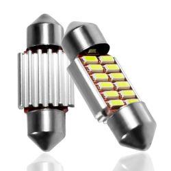 Пальчикового типа 31 мм 36 мм 39 мм 42 мм светодиодные лампы C5w C10W Суперяркий 4014 ошибок шины CAN для поверхностного монтажа Auto внутреннем помещении кар стайлинг лампы освещения