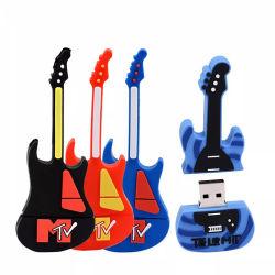 Музыкальные инструменты модель перо диск USB Flash Drive гитара диск 4G 8g 16g 32g 64G Custom ПВХ флэш-накопитель USB