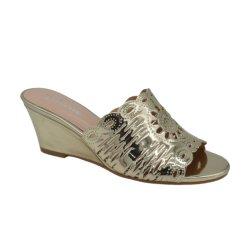 新しい良質の夏のスリッパの方法魚の口のウェッジの開いたつま先の女性の靴